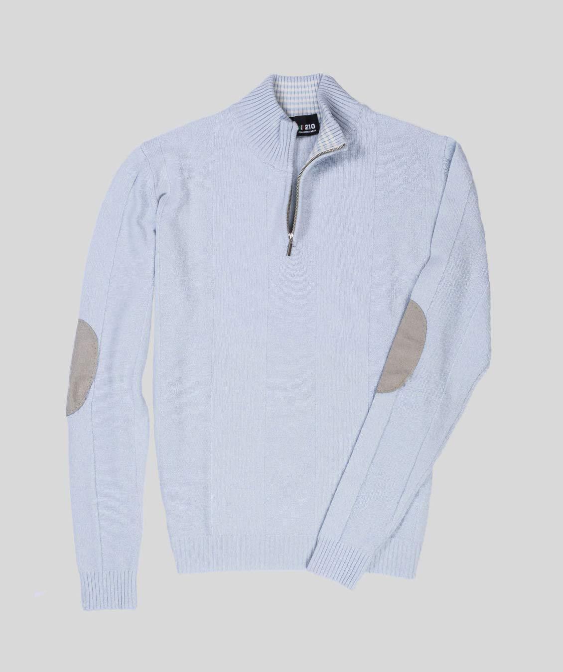 sito affidabile 4d3ea 78d17 Maglione con zip extra tall uomo 210 messwear shop online